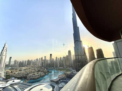 2 Bedroom Apartment for Rent in Downtown Dubai, Dubai - Burj Khalifa View | All Bills Included |Fully Furnished
