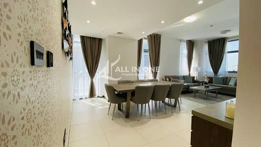 3 Bedroom Flat for Rent in Capital Centre, Abu Dhabi - Luxurious lifestyle! Brand New Furnished 3BR with Parking