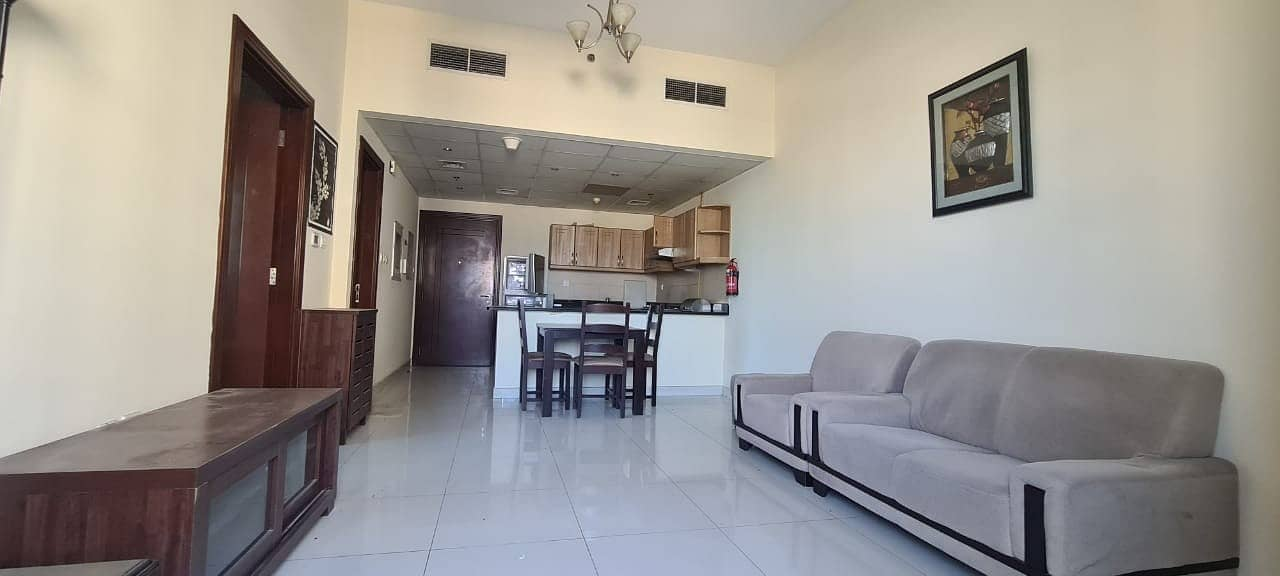 2 Furnished 1 BR with Double Balcony for Rent