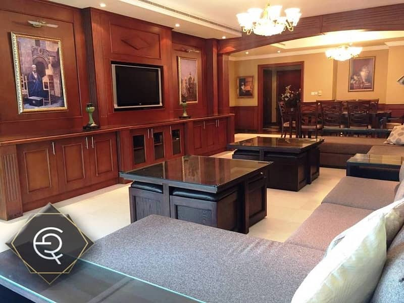 Fully Furnished |3 Bedroom +Maids |High Floor