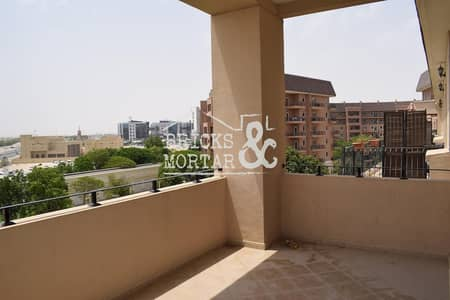 1 Bedroom Flat for Rent in Motor City, Dubai - 4 Cheques | Large apartment | Garden Views