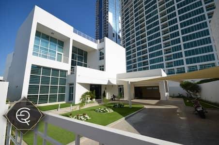 5 Bedroom Villa for Rent in Al Sufouh, Dubai - Modern Villa | Private Garden and Pool | Triplex