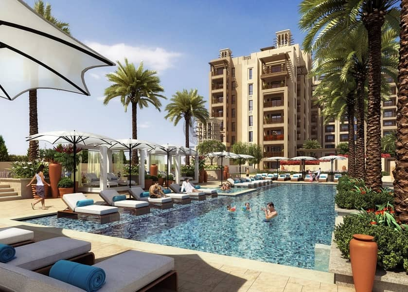18 FIRST FREEHOLD LIVING IN FRONT OF BURJ AL ARAB