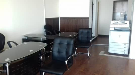Office for Sale in Ajman Downtown, Ajman - office Big size  in Horizon tower for sale 1297sqft with partition in ajman