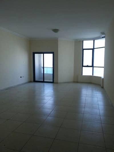 فلیٹ 3 غرف نوم للايجار في عجمان وسط المدينة، عجمان - Al Khor Towers: 3 Bed Hall Sea View and Maid 2366 sqft very very big