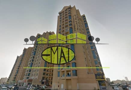 3 Bedroom Flat for Rent in Ajman Downtown, Ajman - Al Khor Towers: 3 Bed Hall Sea View and Maid 2366 sqft very very big