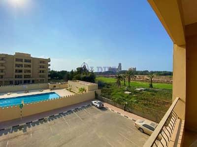 استوديو  للايجار في قرية الحمراء، رأس الخيمة - Pool & Golf View | Furnished | Great Location