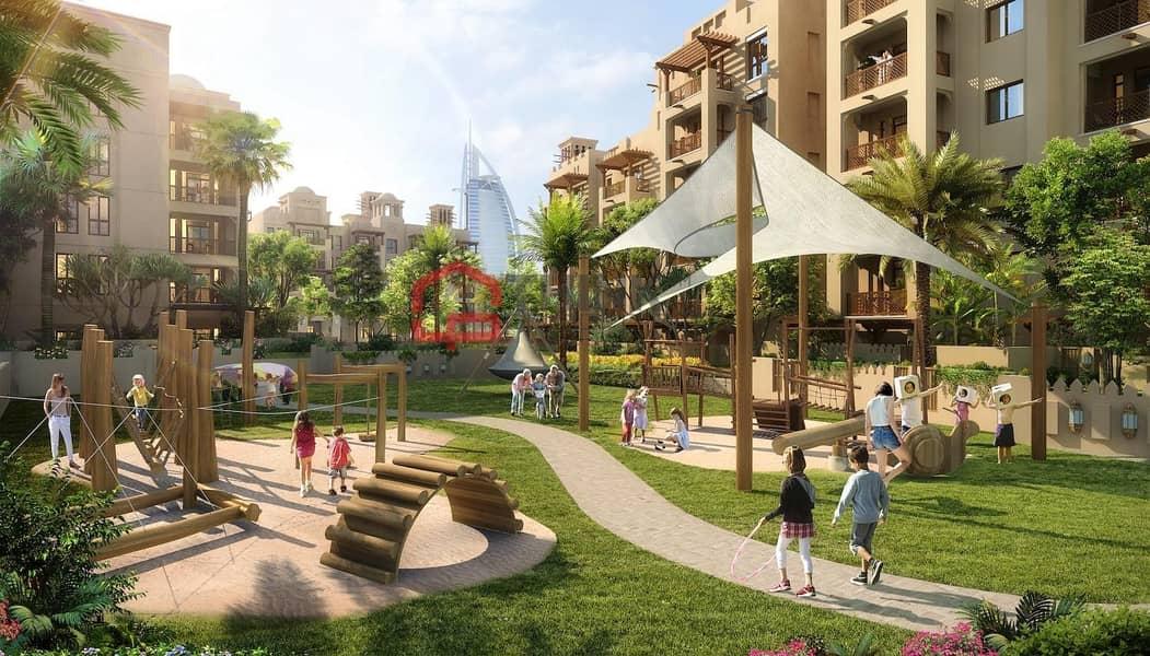 10 Apartments with breath taking view of Burj Al Arab