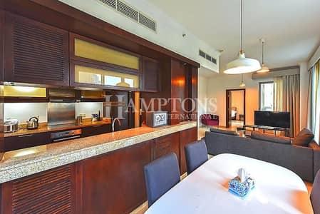 فلیٹ 1 غرفة نوم للايجار في وسط مدينة دبي، دبي - Fully Furnished 1 BR Apt in Residences 5