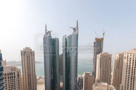 2 Bedroom Flat for Sale in Dubai Marina, Dubai - Top Floor Sea and Marina Views 2 Bedroom