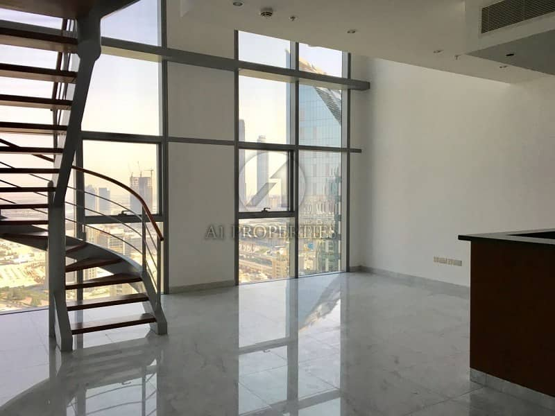 2 Duplex with appliances and Full Zabeel View