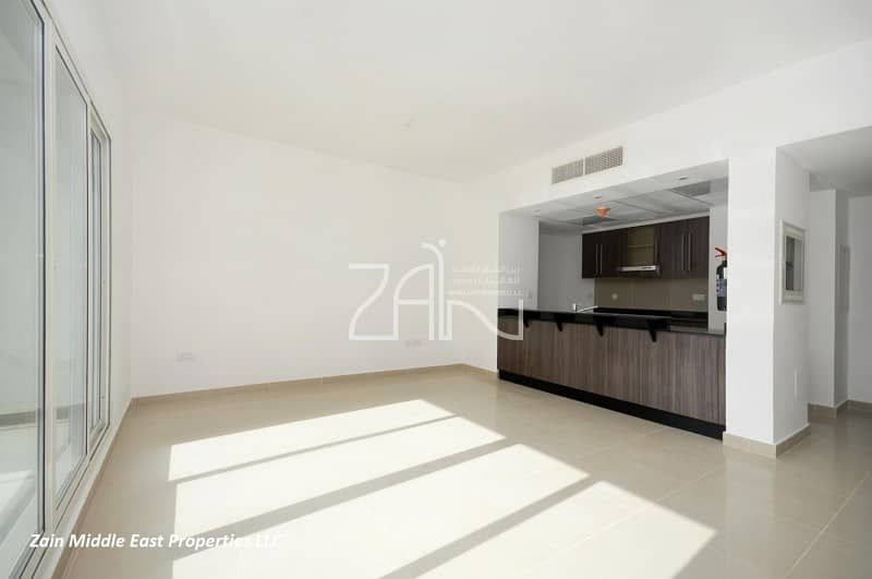 2 Garden View! Amazing Layout 1BR Type C with Balcony