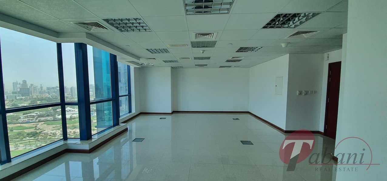 2 Vacant Office for sale with Panoramic and Golf View in JLT at X3 Tower
