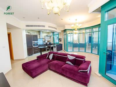 2 Bedroom Flat for Rent in Dubai Marina, Dubai - Partly Furnished   Spacious 2BR Apt   Mid Floor