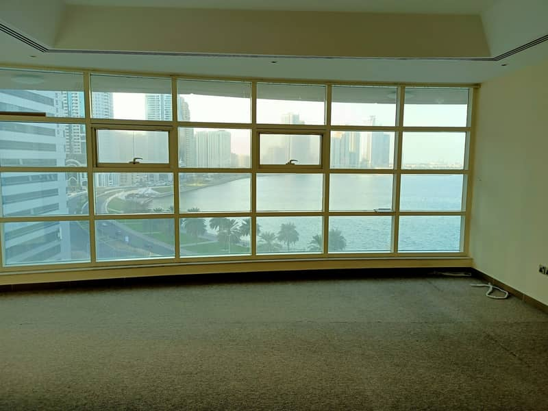 Buhaira Corniche  View  Free Chiller AC,Gym,Pool,Month,Parking  Luxurious All Masters 3-BR with Maids,Wardrobes