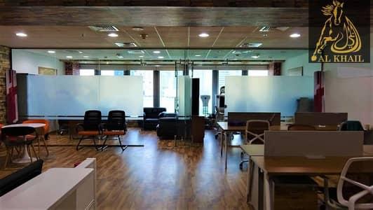 مکتب  للبيع في الخليج التجاري، دبي - Hot Deal Furnished Office Fully Canal View