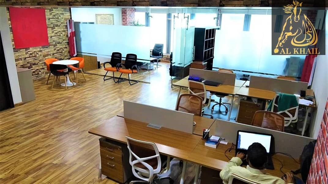 2 Hot Deal Furnished Office Fully Canal View
