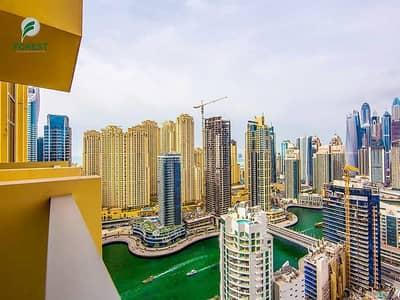 1 Bedroom Flat for Rent in Dubai Marina, Dubai - Bills Included   Unfurnished  1BR   Marina View