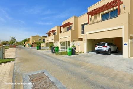 3 Bedroom Villa for Sale in Al Raha Gardens, Abu Dhabi - High Standard Single Row 3BR Villa Type A For Sale