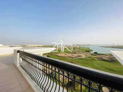 Full Golf/Sea View Vacant 3 BR Apt with Large Terrace