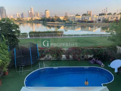 3 Bedroom Townhouse for Sale in The Springs, Dubai - Lake view | Private Pool | Upgraded