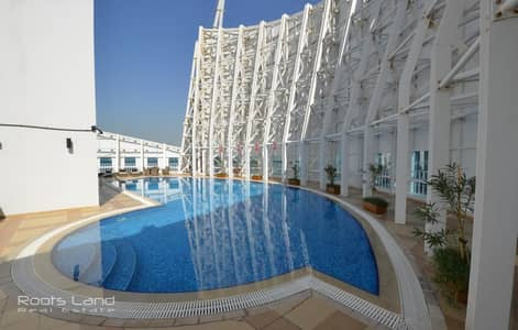 Spacious well maintained apartment with amazing view