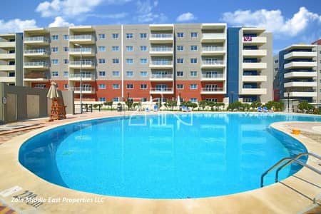 Pool View 1 BR Type D Large Layout with Balcony