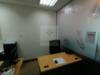 مکتب  للايجار في الخليج التجاري، دبي - Fully Fitted 2 Offices with Partition in Sobha Ivory 2