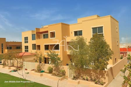 3 Bedroom Townhouse for Rent in Al Raha Gardens, Abu Dhabi - Modern 3 BR Two Levels Single Row Close to Park