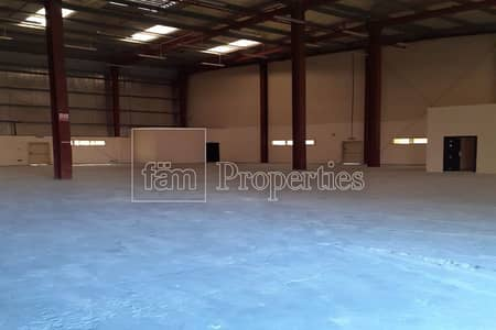 Warehouse for Rent in Dubai Investment Park (DIP), Dubai - Open Plan Warehouse with Offices | Rent it Now
