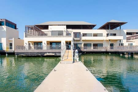 6 Bedroom Villa for Rent in Al Gurm, Abu Dhabi - Waterside Grandeur with Huge Layout