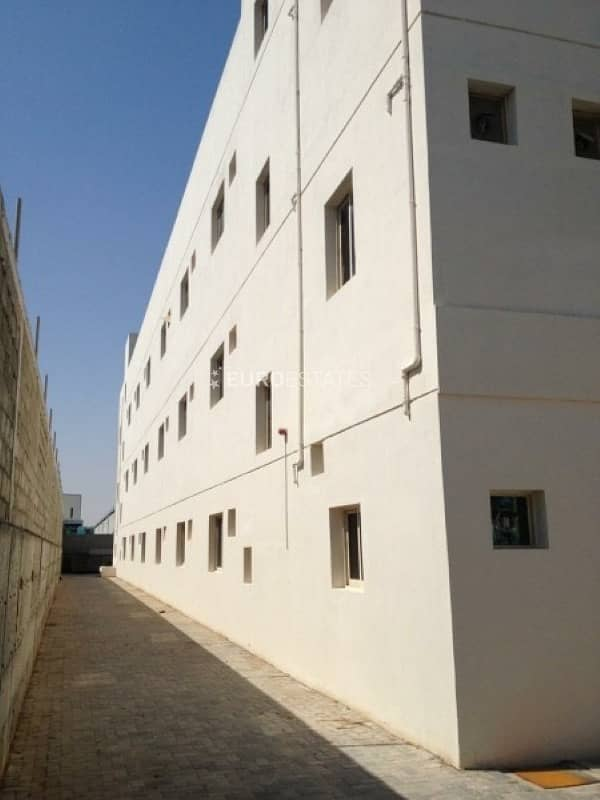 3 Floor Warehouse & Labor Camp | Near Emirates Road