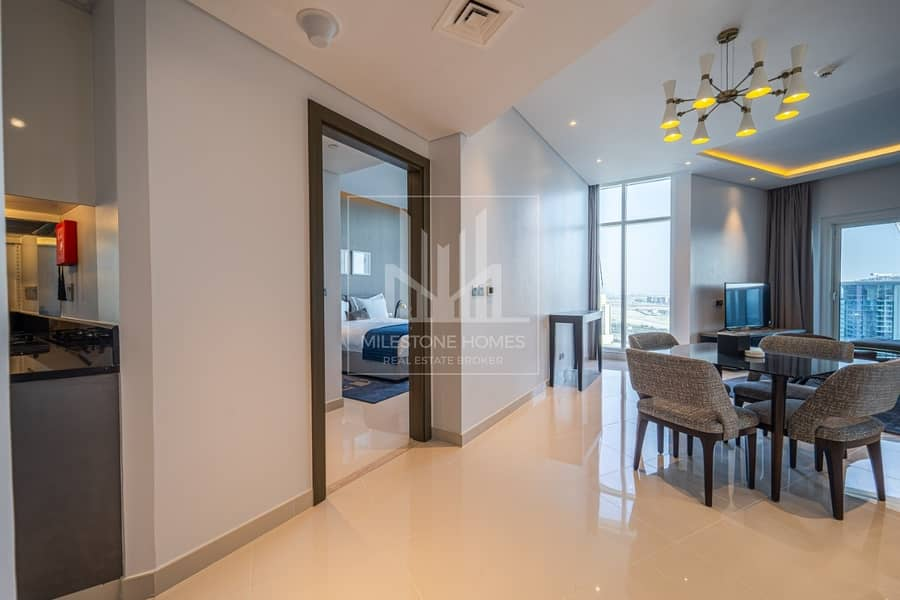 2 New Furnished 2 Balconies Canal View