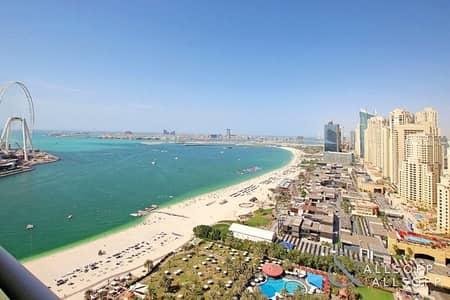 شقة 1 غرفة نوم للبيع في جميرا بيتش ريزيدنس، دبي - 1 Bedroom | Vacant | Panoramic Sea Views
