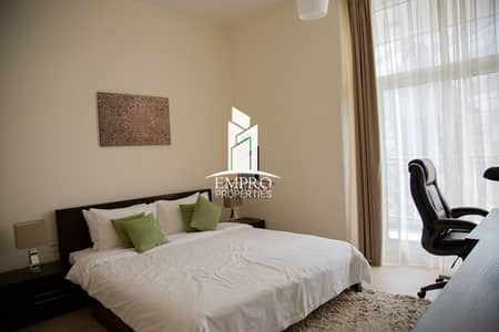 Fully furnished 1-BR apartment