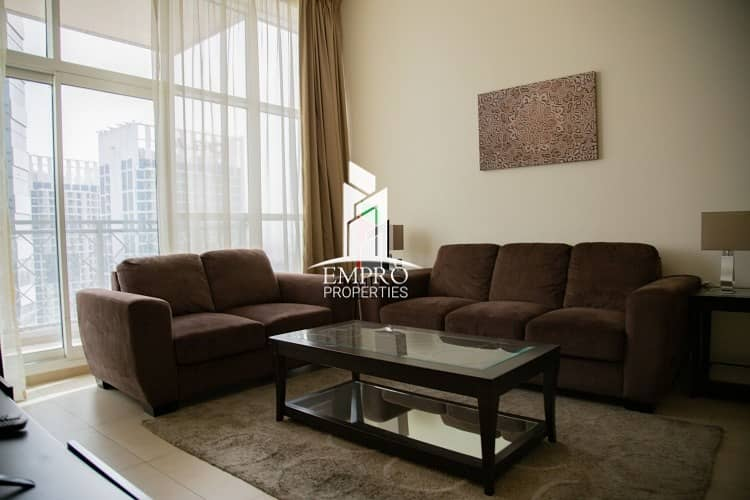 2 Fully furnished 1-BR apartment