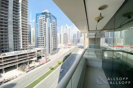 1 Bedroom Flat for Rent in Business Bay, Dubai - Road View | 1 Bed | Furnished | Vacant Now