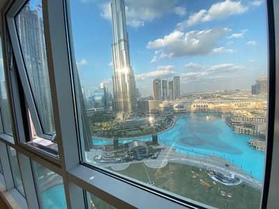 فلیٹ 3 غرف نوم للايجار في وسط مدينة دبي، دبي - Spectacular 3BD + MAID with full Burj Khalifa View