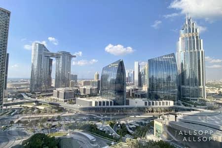 شقة 1 غرفة نوم للبيع في وسط مدينة دبي، دبي - Large One Bedroom | Study Area | DIFC View