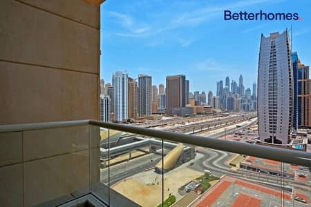 1 Bedroom Flat for Rent in Jumeirah Lake Towers (JLT), Dubai - Unfurnished |Close to Metro | With Balcony