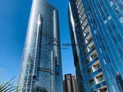 شقة في برج سكاي شمس جيت ديستريكت جزيرة الريم 2 غرف 1254000 درهم - 4904740
