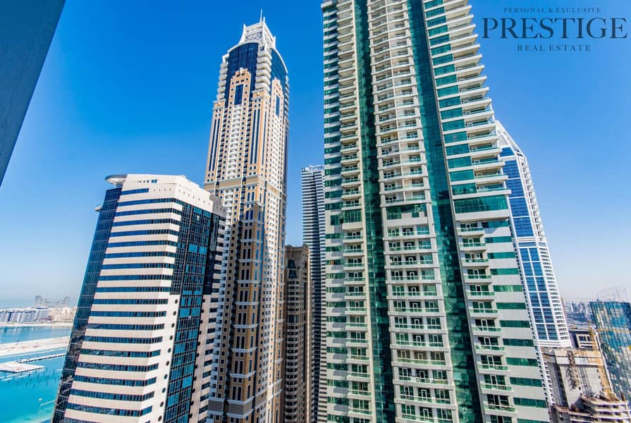 2 02 - 2Bed in Torch Tower | Golf view | Dubai Marina