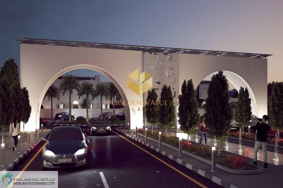 24 Luxury 4 Bedroom Villa | Sustainable City | Easy Payment plan