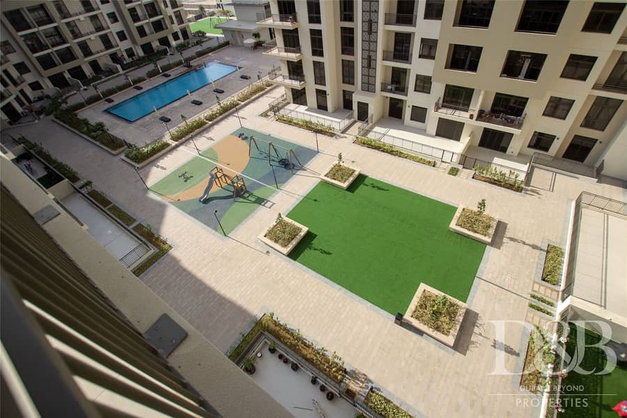 10 Full Pool View | Huge Balcony | Biggest Layout