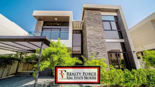 5 Bedroom Villa for Sale in DAMAC Hills (Akoya by DAMAC), Dubai - FULL GOLF FACING | FENDI STYLED | BRAND NEW 5BR
