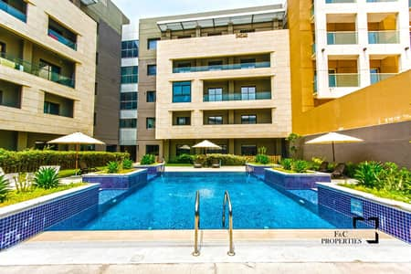3 Bedroom Flat for Rent in Jumeirah Village Circle (JVC), Dubai - Large Living |3Bed+Maid | Chiller Free | Pool View