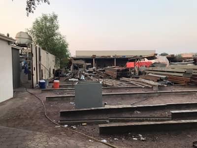 ارض صناعية  للايجار في المدينة الصناعية الجديدة، عجمان - 35000 Sqft يارد مع مستودع، مكتب معسكر العمل للايجار في منطقة صناعية جديدة عجمان