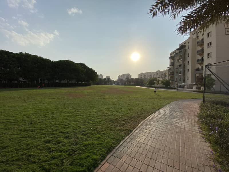 1 Bed Room With Huge Terrace In Al Thamam Front Of Tennis Court