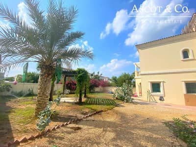2 Bedroom Villa for Rent in Jumeirah Village Triangle (JVT), Dubai - Private Garden  | Close to Entrance/Exit