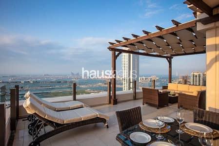 شقة 2 غرفة نوم للبيع في جميرا بيتش ريزيدنس، دبي - Unique Penthouse | Palm Jumeirah Views | Exclusive